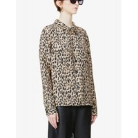 RE/DONE Womens Clothing Leopard print woven shirt Valentine RIAS1DL5