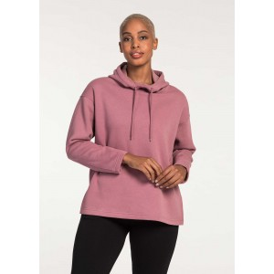 Woolworths Classic Collection Women's Soft Cotton Rich Hoodie LILAC 505357654